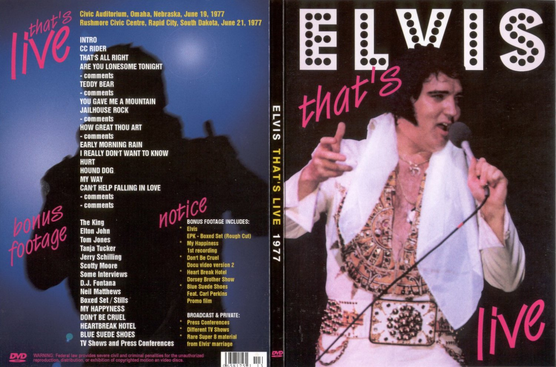 Elvis - That´s Live 1977 DVD