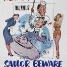 Sailor Beware (1952) - Jerry Lewis DVD