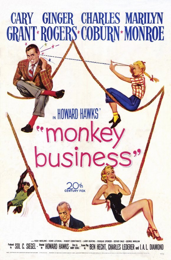 Monkey Business (1952) - Cary Grant DVD