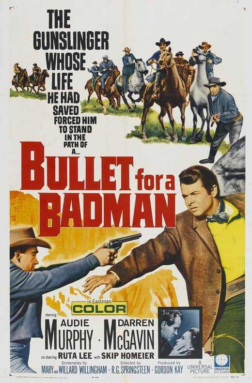 Bullet for A Badman (1964) - Audie Murphy DVD