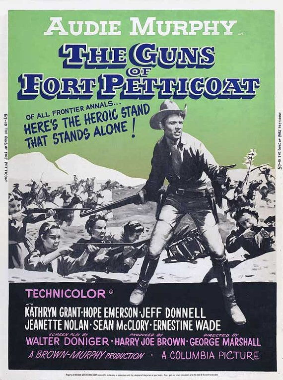 The Guns Of Fort Petticoat (1957) - Audie Murphy DVD