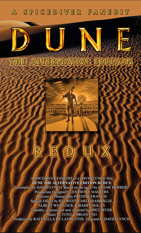 Dune (1984) Extended Alternative Edition DVD