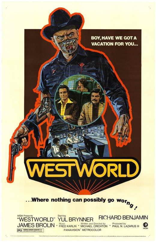 Westworld (1973) - Yul Brynner DVD