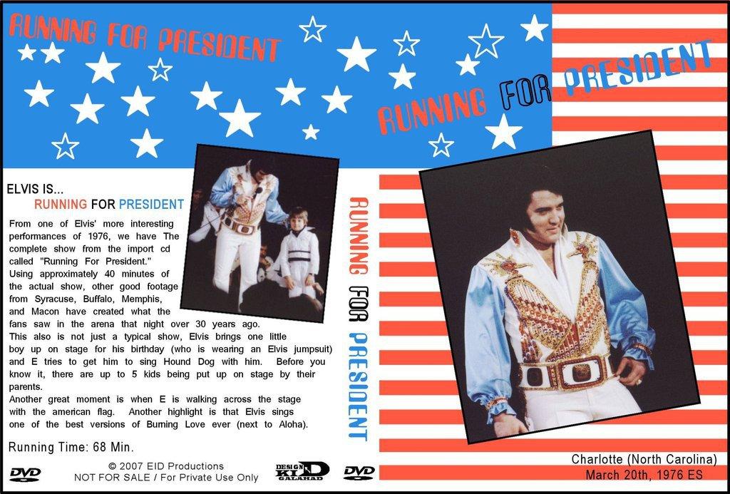 Elvis - Running For President DVD