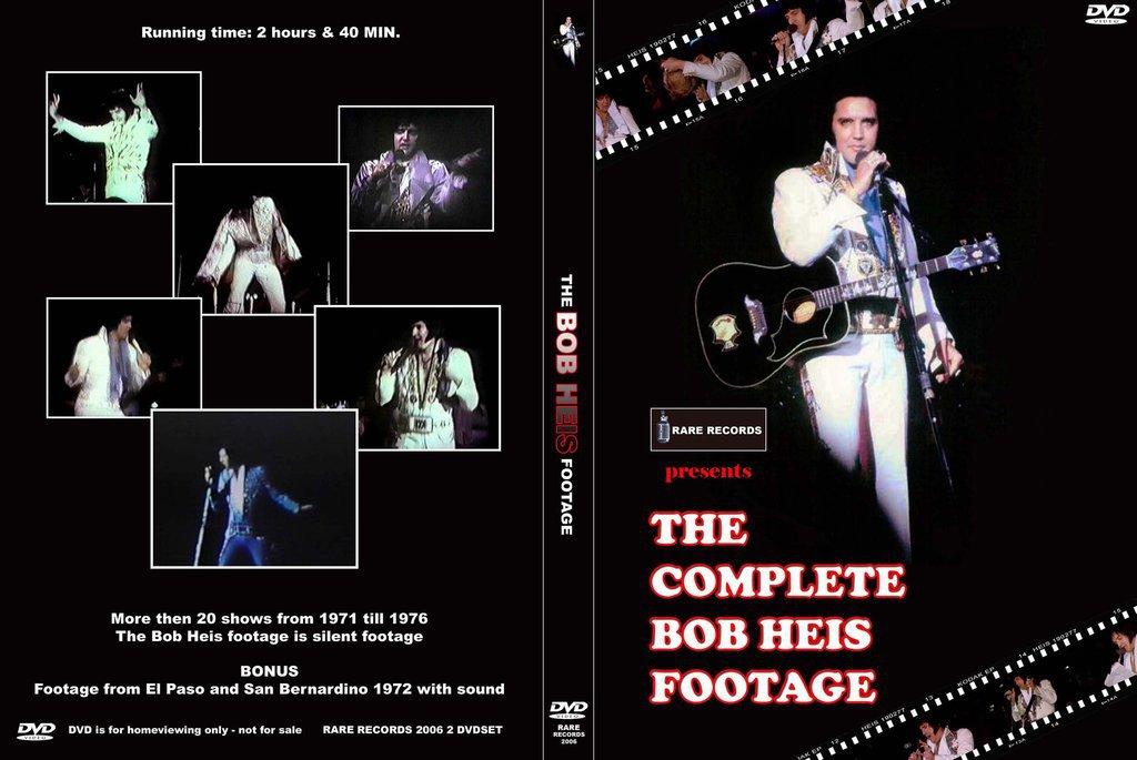 Elvis - The Complete Bob Heis Footage 2 DVD Set