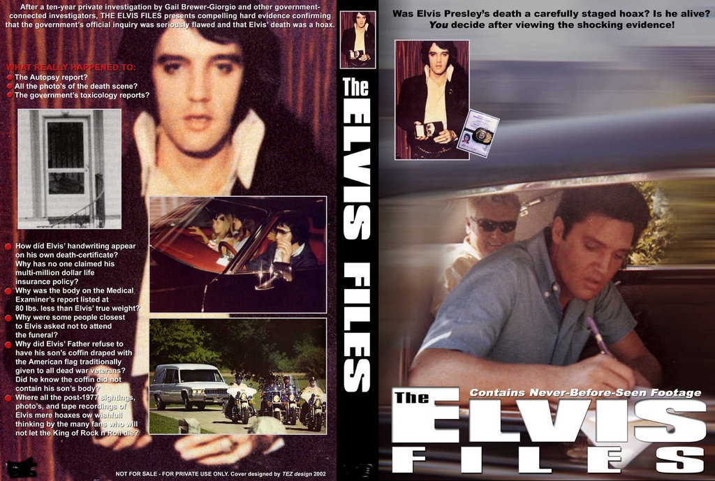 Elvis - The E-Files DVD