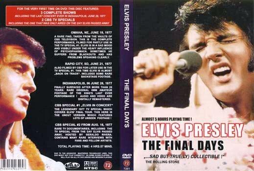 Elvis - The Final Days DVD