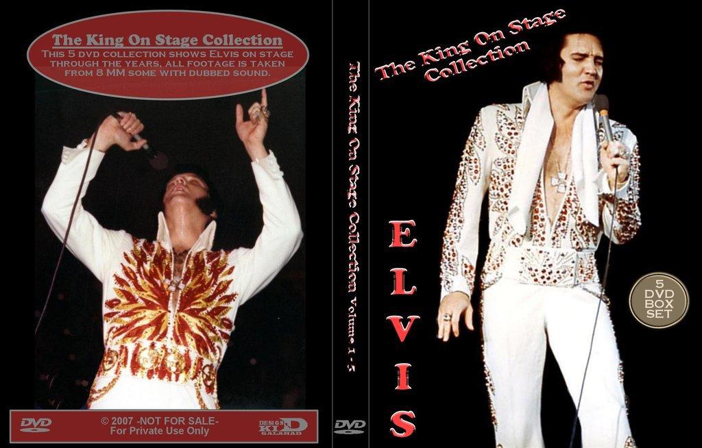 Elvis - The King On Stage - 5 DVD Set