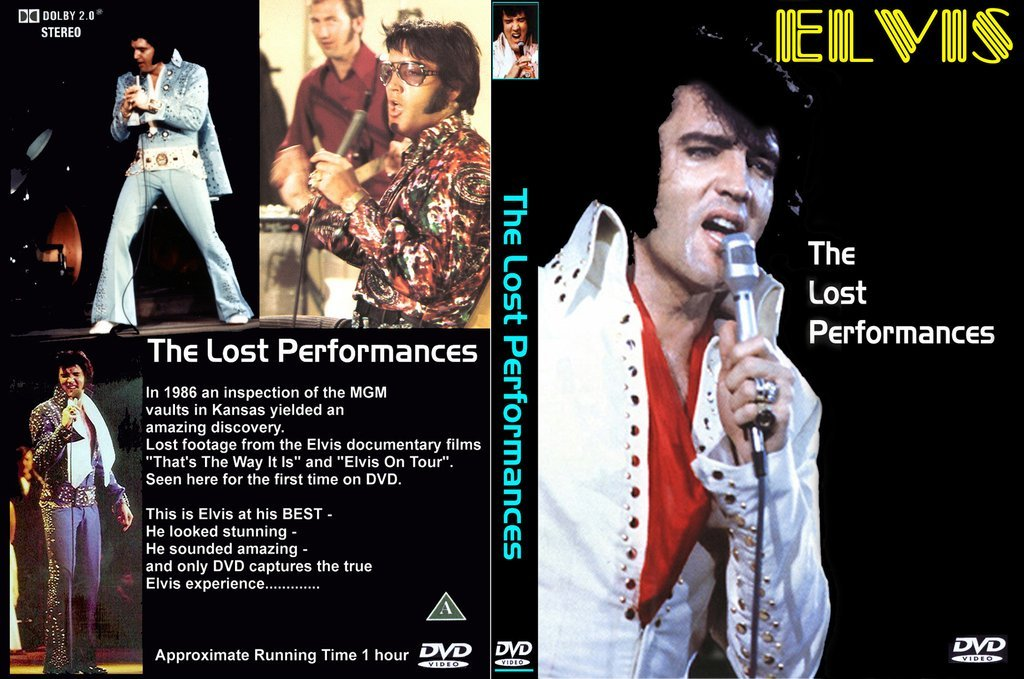 Elvis - The Lost Performances DVD
