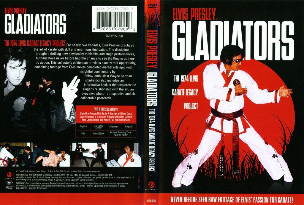Elvis Presley Gladiators: 1974 Karate Legacy DVD