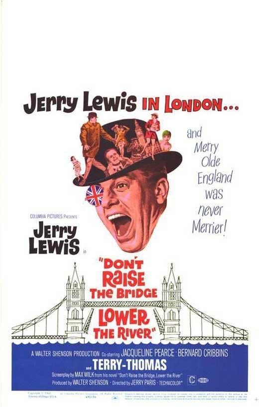 Don´t Raise The Bridge, Lower The River (1968) - Jerry Lewis DVD