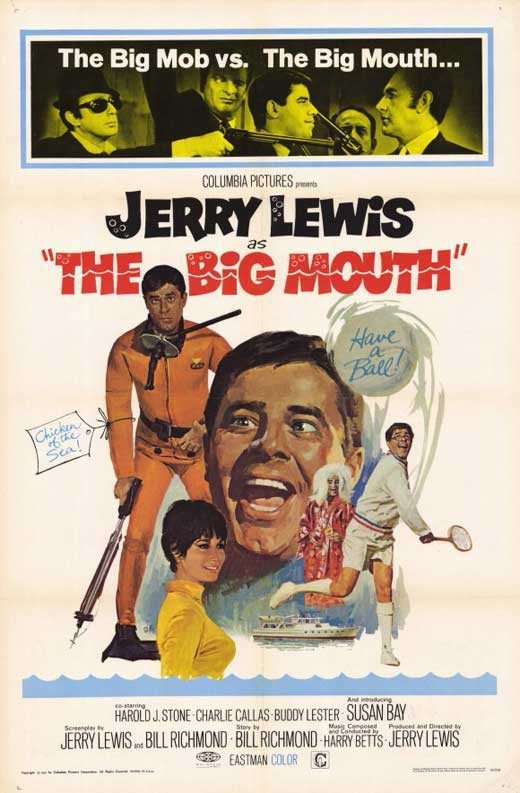 The Big Mouth (1967) - Jerry Lewis DVD