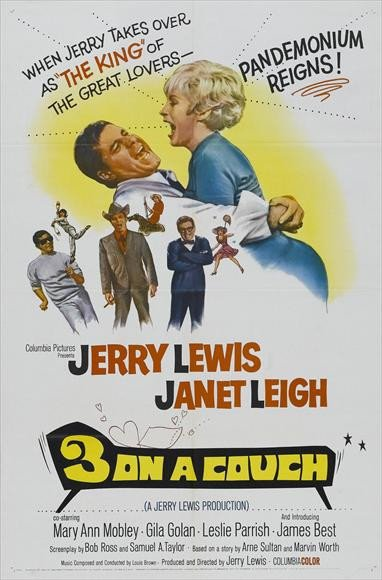 Three On A Couch (1966) - Jerry Lewis DVD