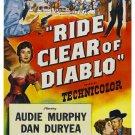 Ride Clear Of Diablo (1954) - Audie Murphy DVD