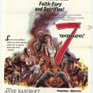 7 Women (1966) - John Ford DVD