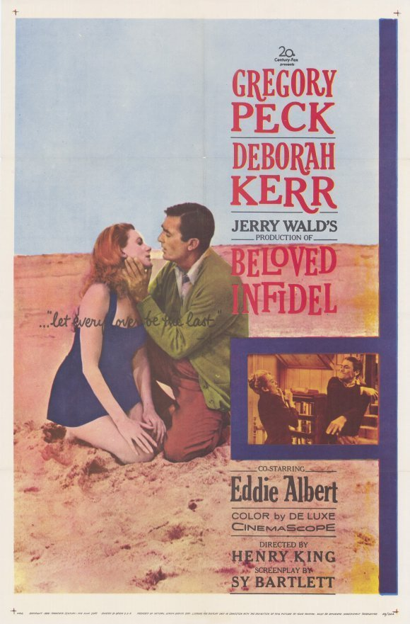 Beloved Infidel (1959) - Gregory Peck DVD