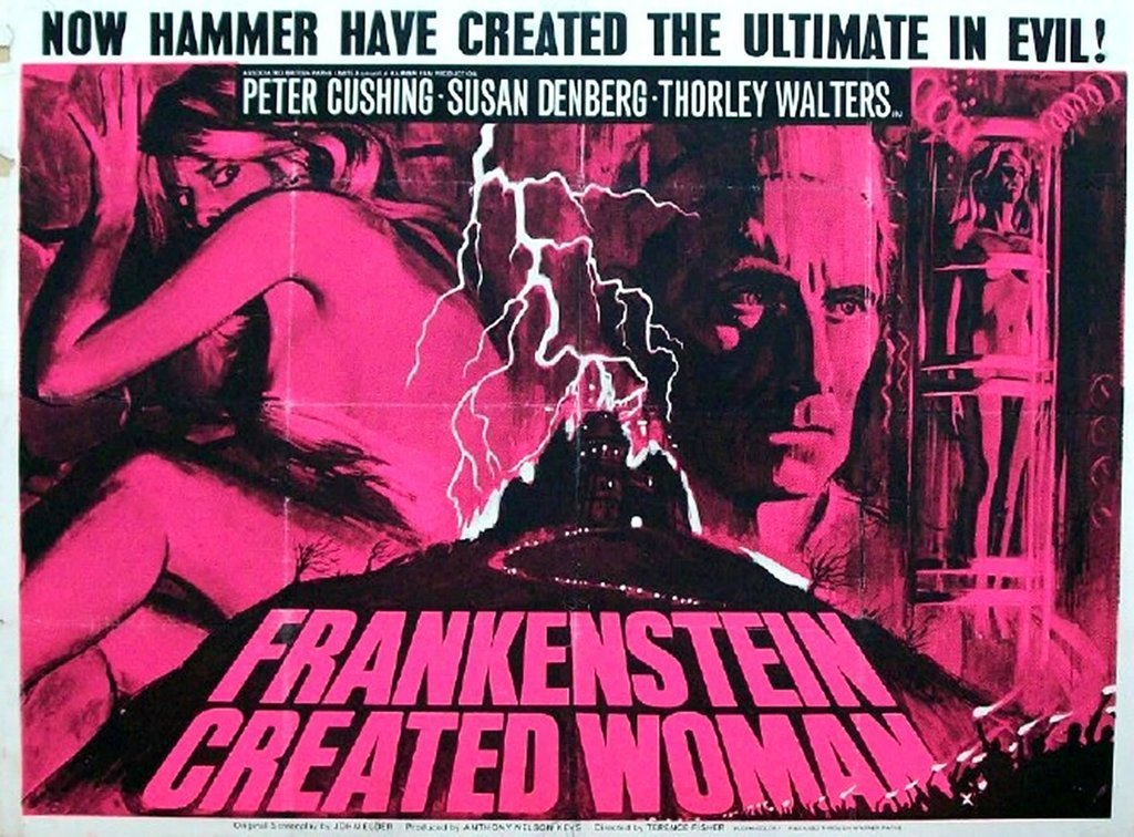 Frankenstein Created Woman (1966) - Peter Cushing DVD