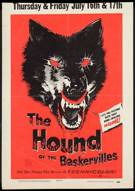 Hound Of The Baskervilles (1959) - Christopher Lee DVD