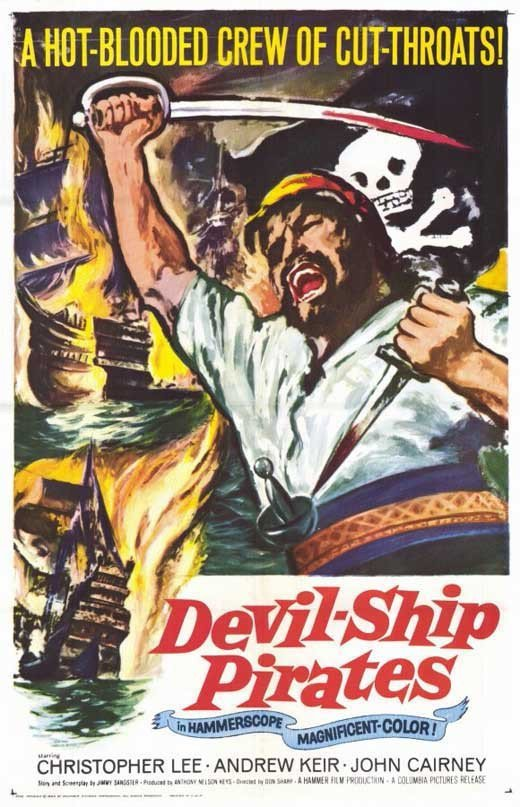 The Devil-Ship Pirates (1964) - Christopher Lee DVD