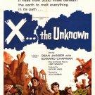 X - The Unknown (1956) - Dean Jagger DVD
