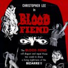 Blood Fiend AKA Theatre Of Death (1967) - Christopher Lee DVD