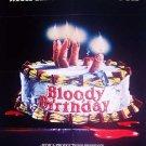 Bloody Birthday (1981) - Michael Dudikoff DVD