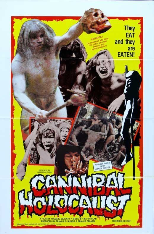 Cannibal Holocaust (1980) - Ruggero Deodato DVD
