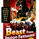 Beast From 20,000 Fathoms (1953) - Kenneth Tobey DVD