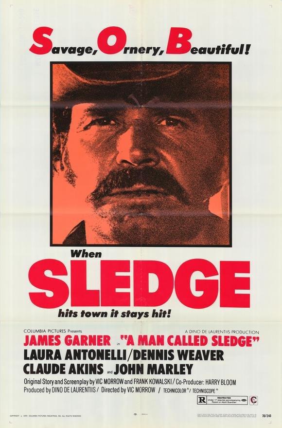 A Man Called Sledge (1970) - James Garner DVD