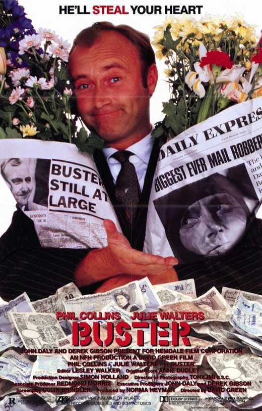 Buster (1988) - Phil Collins DVD
