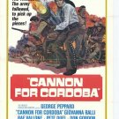 Cannon For Cordoba (1970) - George Peppard DVD