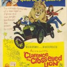 Clarence The Cross-Eyed Lion (1965) DVD