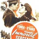 Immortal Sergeant (1943) - Henry Fonda DVD