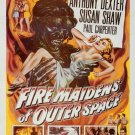 Fire Maidens From Outer Space (1956) DVD