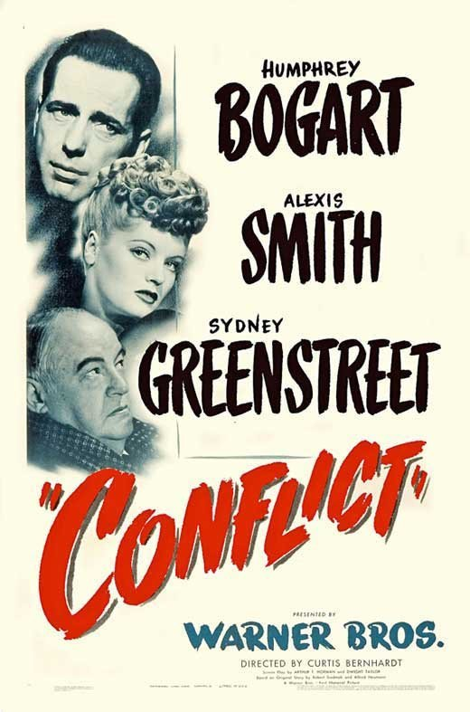 Conflict (1945) - Humphrey Bogart DVD
