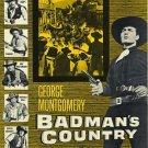 Badman´s Country (1958) - George Montgomery DVD