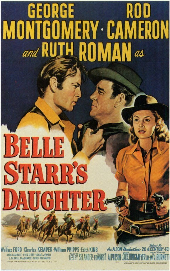 Belle Starr´s Daughter (1948) - George Montgomery DVD