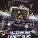 Maximum Overdrive (1986) - Stephen King DVD