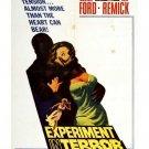 Experiment In Terror (1962) - Glenn Ford DVD