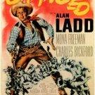 Branded (1950) - Alan Ladd DVD