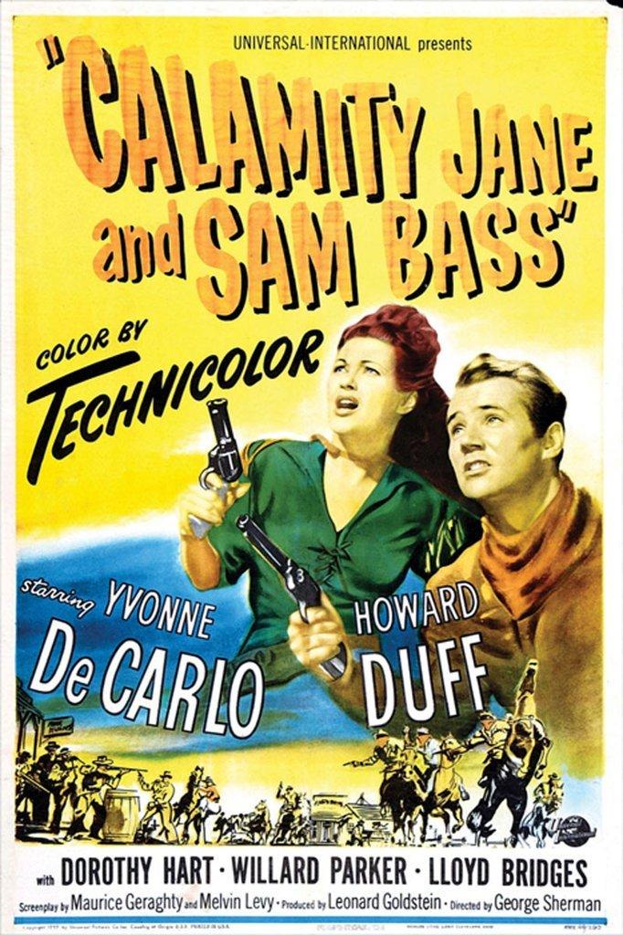 Calamity Jane And Sam Bass (1949) - Yvonne De Carlo DVD