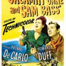Calamity Jane And Sam Bass (1949) - Yvonne De Carlo DVD
