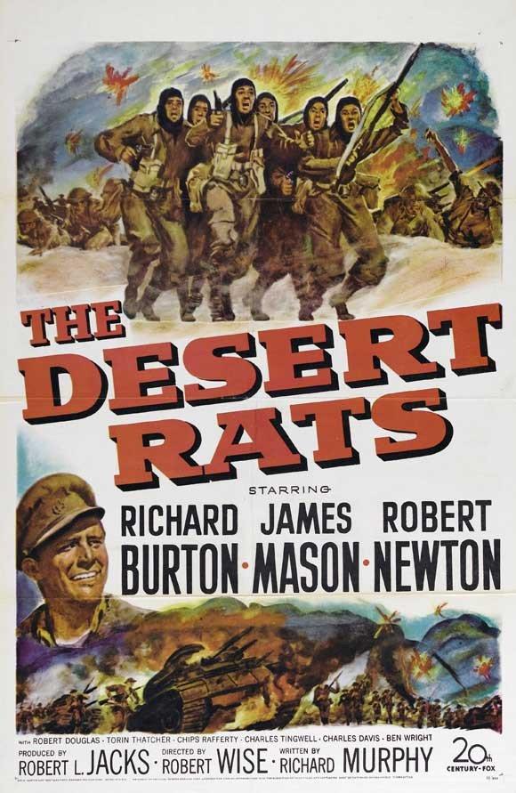 Desert Rats (1953) - Richard Burton DVD