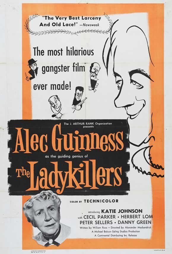 Ladykillers (1955) - Alec Guinness DVD
