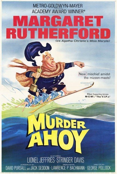 Miss Marple : Murder Ahoy (1964) - Margaret Rutherford DVD