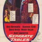 Separate Tables (1958) - Burt Lancaster DVD