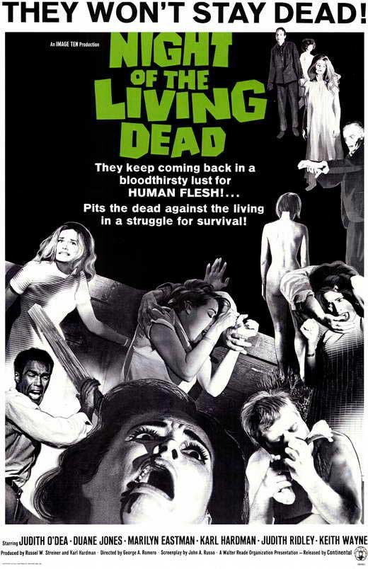 Night Of The Living Dead (1968) - George A. Romero Color Version DVD