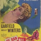 He Ran All The Way (1951) - John Garfield DVD