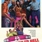 Hot Rods To Hell (1967) - Dana Andrews DVD