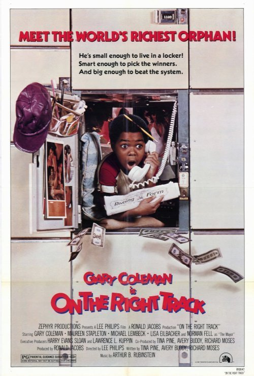 On The Right Track (1981) - Gary Coleman DVD